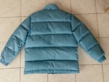 """Vtg winter jacket thick 90% DOWN puffer snow ski mountaineer mens M,womens L 48"""""""