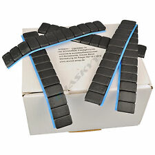 5x SCHWARZE Auswuchtgewichte 12x5g Klebegewichte Stahlgewichte Kleberiegel 300Gr