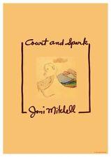 Joni Mitchell POSTER Court and Spark Album Promo **RARE IMAGE**