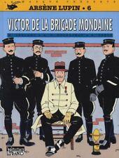 BD prix réduit Arsène Lupin Victor de la brigade mondaine Lefrancq