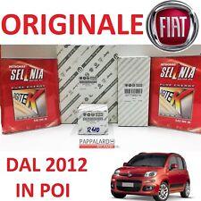 KIT TAGLIANDO FILTRI ORIGINALI + OLIO SELENIA FIAT PANDA 900 0.9 TWINAIR 86 CV