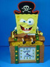 Spongebob Squarepants Pirate Treasure Chest Alarm Clock & Coin Bank (2002)