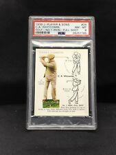 1939 John Player & Sons #24 CA Whitcombe PSA 8