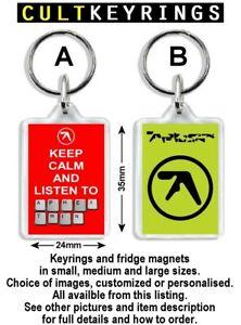 Aphex Twin keyring / fridge magnet - Richard David James