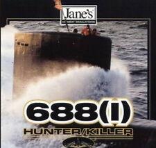 Jane's 688i Hunter Killer 688 Submarine PC CD