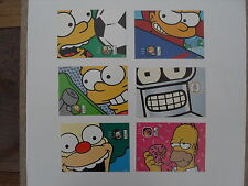 The Simpsons - 6 different cards