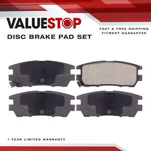 Rear Ceramic Brake Pads for Eagle Talon  (98-95); Mitsubishi Montero  (00-92)