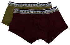 Bipack 2 boxer trunk BIKKEMBERGS articolo B4P883L1B taglia S colore 8347