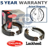 Rear Delphi Brake Shoes For Vauxhall Astra Corsa Tigra Vectra Cavalier Nova