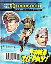Commando For Action & Adventure Comic Book Magazine #2648 TIME TO PAY!