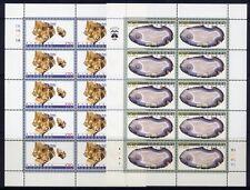 Armenien Armenia 1998 Mineralien Minerals Gesteine Stones 347-48 Kleinbögen MNH