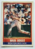 Wade Boggs Sportsflics 1989 MLB Trading Card #100 Boston Red Sox