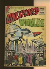 Mysteries of Unexplored Worlds 2 GD/VG 3.0 * 1 Book Lot * Charlton 1957!