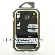 Incipio Motorola Moto X 2nd Gen Dualpro 2 Layers Hard Case Cover Black NEW