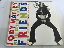 "Jody Watley With Eric B And Rakim - Friends 12"" 1989 Ex/Vg MCA MCAT1352 M/NM"