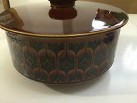 Vintage Retro Hornsea Heirloom 1976 Tureen Casserole Pot Serving Dish Lid