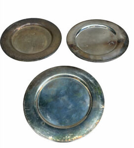 """Set of 3 Vintage WM A Rogers 