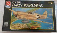 AMT ERTL Curtiss P-40N Warhawk #8798 plastic model kit 1/48 SCALE WWII FIGHTER