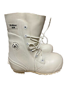 NEW Airboss Bunny Boots Waterproof Extreme Cold Weather w Valve White Size 4R