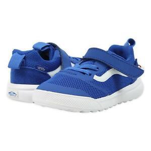 Vans Toddler Ultrarange Rapidweld Shoes Lapis Blue True White 6 New