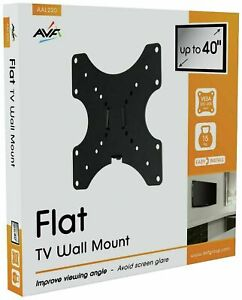 AVF Standard Flat To Wall Upto 40 Inch TV Wall Mount