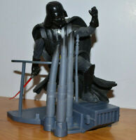 """STAR WARS UNLEASHED DARTH VADER ACTION FIGURE MAQUETTE 2002 HASBRO 6.5"""" TALL"""