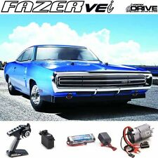 Kyosho 1/10 Fazer VEi 1970 Dodge Charger Blue 4WD Touring Car RTR RS w/ dDRIVE