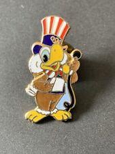 Very Rare LA 1984 Olympics Pin Badge Sam Mascot MC Anchor TV Media Los Angeles
