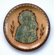 Holzplatte der Heiligen Jungfrau Maria