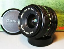 CANON FD 28mm f2.8 WIDE-ANGLE PRIME Camera Lens  GOOD CLEAN CONDITION - AE-1 etc
