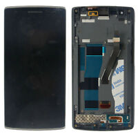 LCD Display Touch Screen Digitizer Frame Assembly For Oneplus One 1+ A0001 New