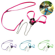 Adjustable Training Birds Parrot Harness Leash Rope Anti Bite Flying Band New