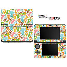 Vinyl Skin Decal Cover for Nintendo New 3DS - Baby's Animal Zoo Pattern