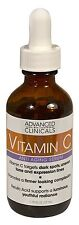 Advanced Clinicals Vitamin C Anti-aging Serum for Dark Spots, Uneven Skin Tone,