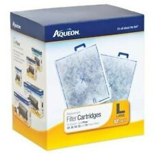 Aqueon Replacement Filter Cartridges, Large, Pack of 12