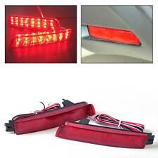 Pair Rear Tail Brake Light LED Bumper Reflector for Nissan Juke Infiniti FX35/37