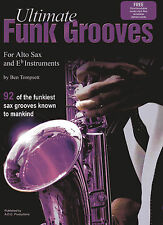 Ultimate Funk Grooves for Eb Book/downloadable audio files
