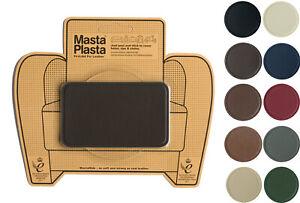 Leather repair self-adhesive patch MastaPlasta 10x6cm Fix holes burns and stains