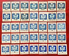 US, Official Mail set 1983-2009, 35 stamps, MNH