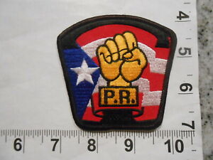 Vintage 70's Puerto Rico Tae Kwon Do Association Martial Arts MMA Gi Patch