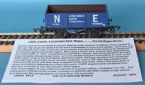 Dapol LNER Loco Sand, Yarmouth, 5-plank Mineral Wagon Nº 60002 - LE of 100