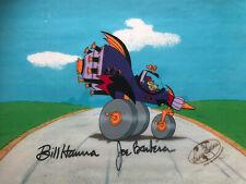 """Dastardly and Muttley"" Original Production cel Signed Bill Hanna & Joe Barbera"