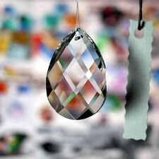 38mm 1 Clear Chandelier Glass Crystals Lamp Prisms Parts Hanging Drops Pendants