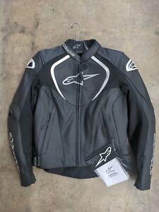 Alpinestars Stella Jaws Perforated Leather Jacket #