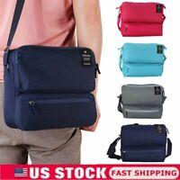Women Men Tote Messenger Cross Body Bag Handbag Ladies Travel Shoulder Bag Purse