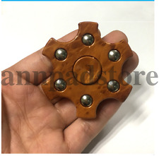 Creative Fidget ABS wood grain series can rotated spinner decompression finger
