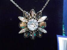 NEW Swarovski SHOUROUK Small Black Pendant Necklace 5029264 DMUL/ROS  JTY