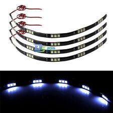 """4pcs 30cm/12"""" LED Strips Light High Power 15-SMD 5050 Waterproof DC 12V White"""
