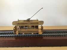 Tenshodo HO DC Brass Model Tram Motorised KTM