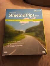 Microsoft Streets and Trips 2007 Brand New Sealed